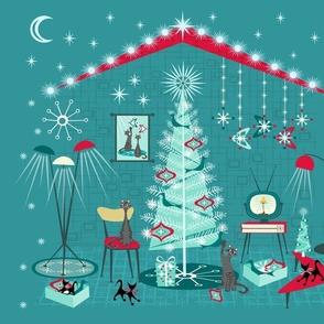 Retro Holiday Decorating