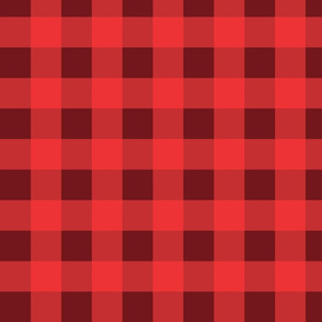 Berry Plaid Coordinate Red