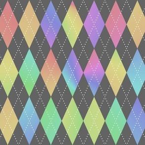 Rainbow Argyle