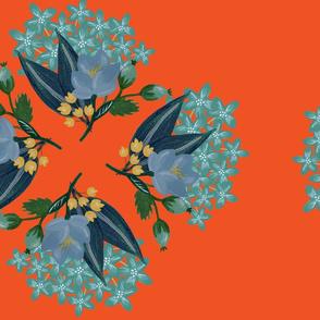Orange September Florals