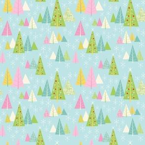 Retro Christmas Forest-Granny