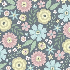 Floral Festival (Muted)