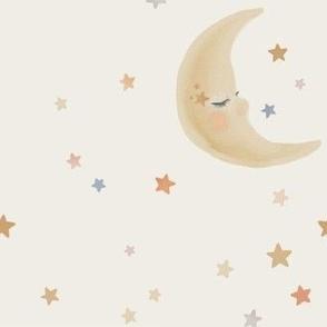 Lunar Moon Lullaby Wallpaper