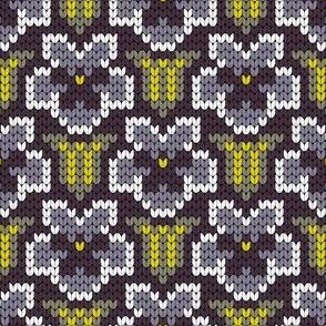 08175874 : knit flowers 1x : love in idleness