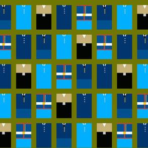 US Military Service Uniforms