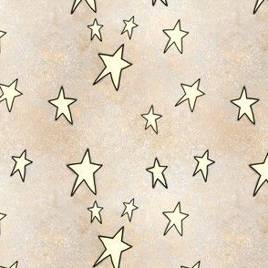 Project 842 | Christmas Stars on Gold