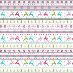 Christmas Reindeer FairIsle