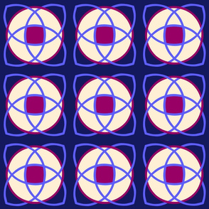 Nucleus Dark Blue Magenta Center