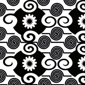 GEOMETRIC BLACKAND WHITE  6 -01