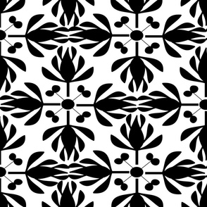 BLACK AND WHITE FORMAL FLORAL-01
