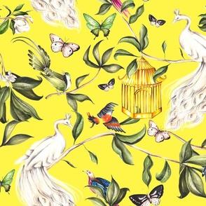 Yellow Chinoiserie