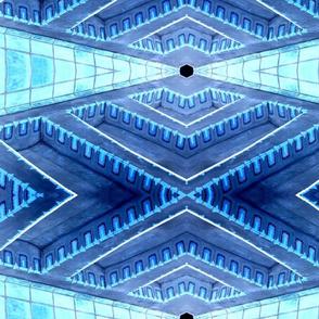 Cranbrook Ceiling Detailing with Tile Blues