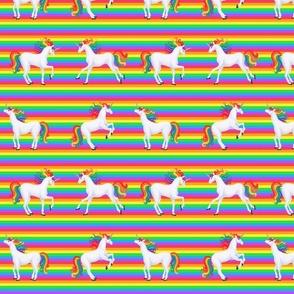 rainbow unicorns rainbow stripe