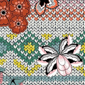 Boho Knitting (Fair Isle)