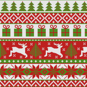 Christmas Fair Isle Pattern