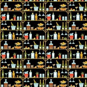 Retro Happy Hour repeat black small