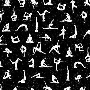 I love yoga Black
