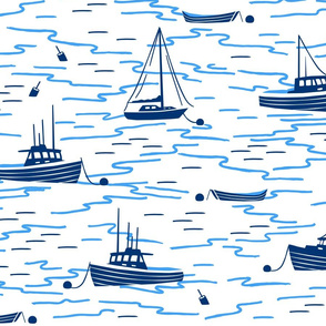 Harbor Boats white extra large