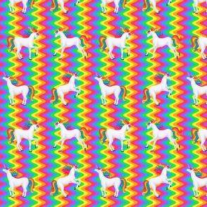 rainbow unicorns rainbow wave