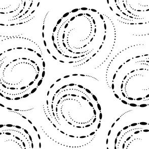 Black Hole Swirls