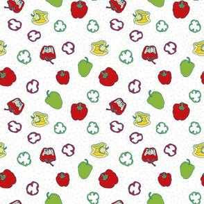Pepper bell fruit