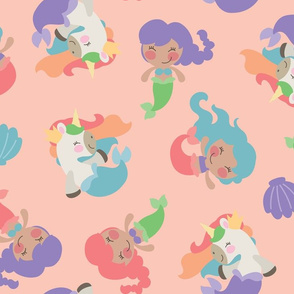 Magical Mermaids and Unicorns