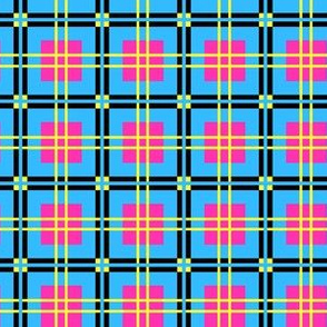 Pipe Dreamz Plaid - Turquoise