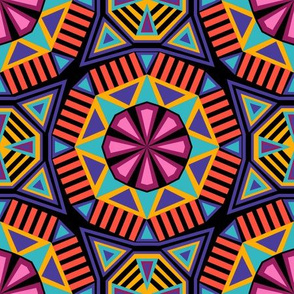 African Geo-Purple