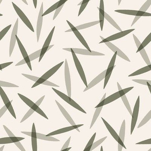 Willow Leaves - Sage Green
