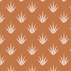Modern Aloe - Desert Brown
