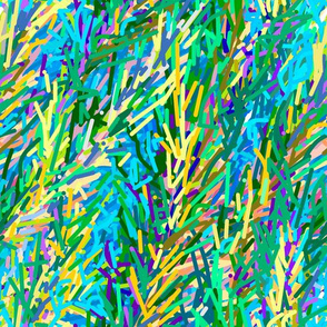 Fields of Grain | Artistic Abstract
