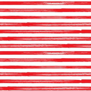 Marker Stripes - red
