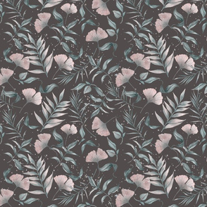 Leaf And Gingko Pattern