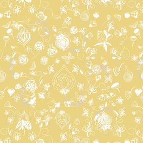 Light Gold Chinoiserie