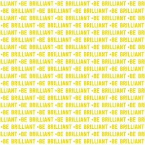 be brilliant micro   yellow white