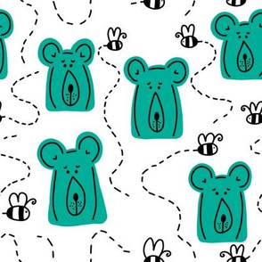 bears   teal