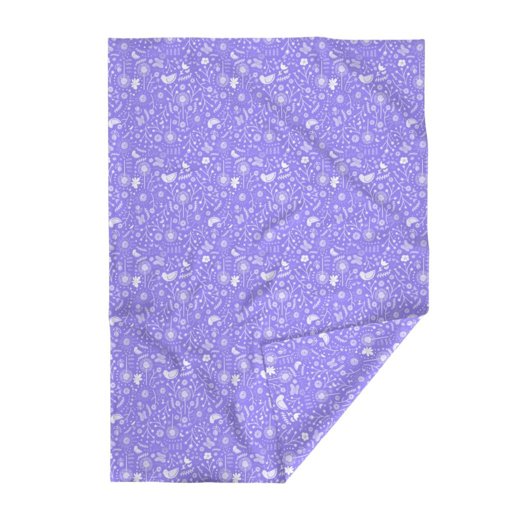 Lakenvelder Throw Blanket featuring Black Flamingo: Stripes & Dots by colettegorgas