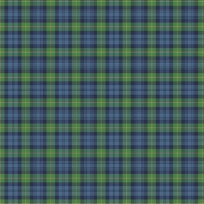 "Gordon Highlanders tartan, 2"" ancient colors"