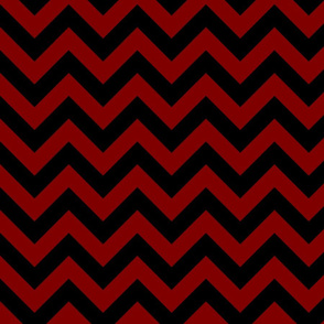 Maroon Dark Blood Red Black Color Chevron Zig Zag Pattern