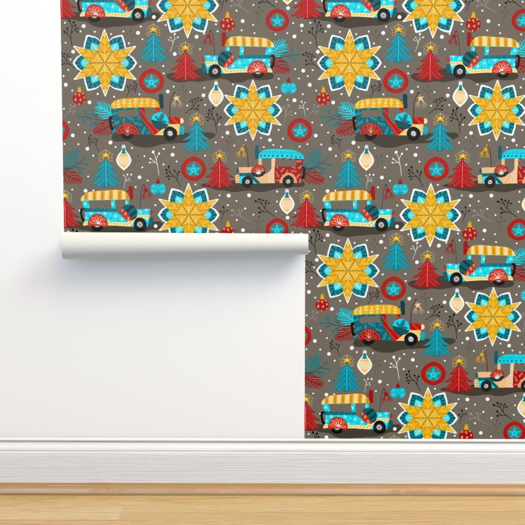 Isobar Durable Wallpaper featuring Christmas in Philippines by oppositedge