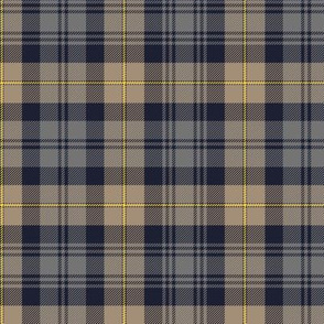 "Gordon Highlanders tartan, 6"" weathered colors, 6"""