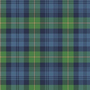 "Gordon Highlanders tartan, 6"" ancient colors"