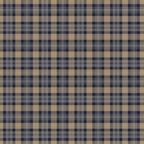 "Gordon Highlanders tartan, 2"" weathered colors"
