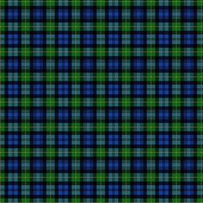 "Gordon Highlanders tartan, 2"" no-twill blend, modern colors"