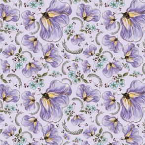 Florida Wildflowers Lavender
