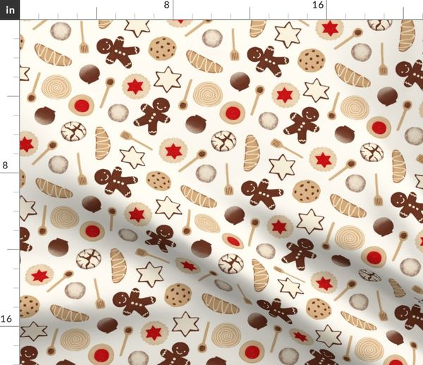Fabric By The Yard Christmas Cookies And Treats