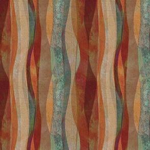 Sandstone Desert Copper Vertical