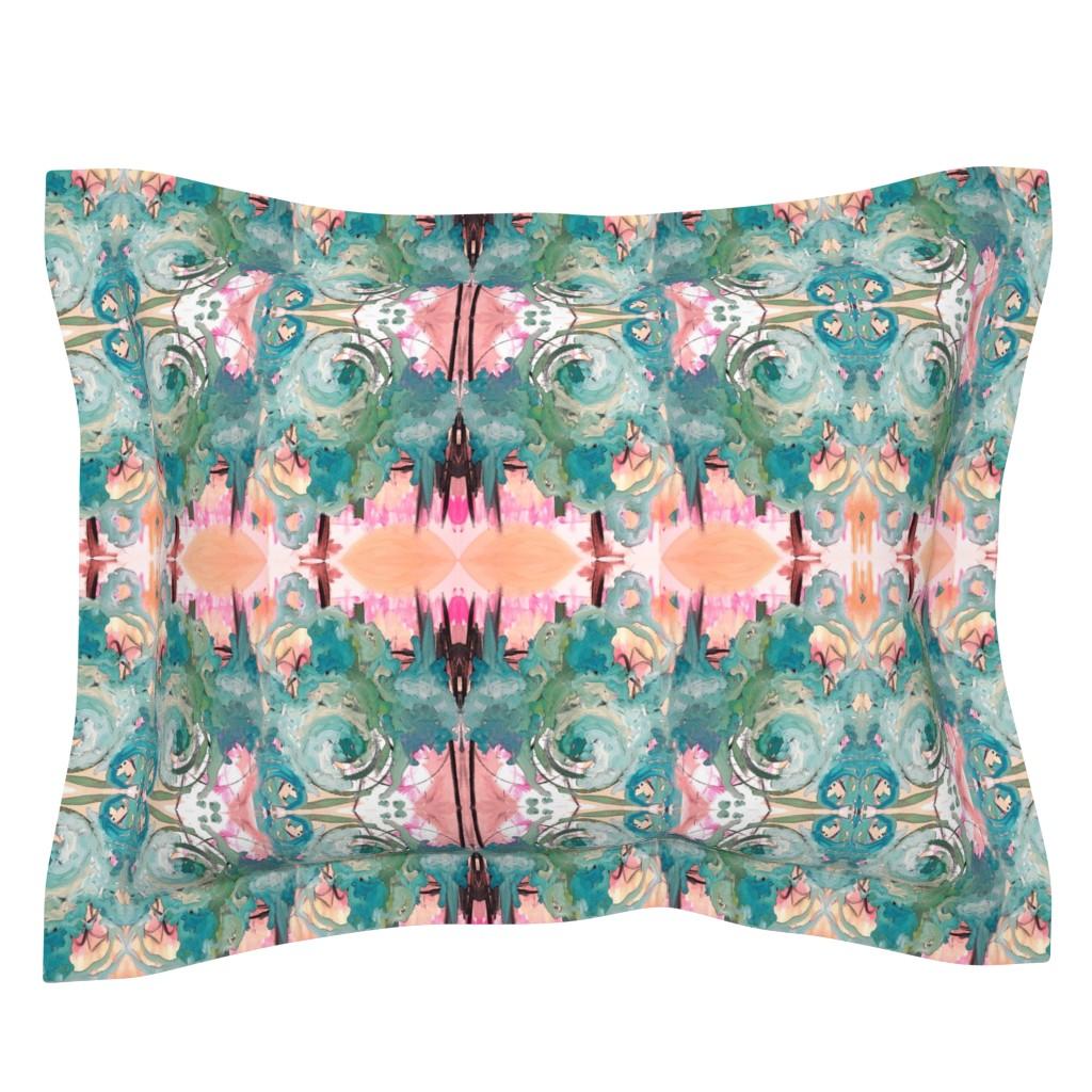 Sebright Pillow Sham featuring Mysterious Tuesday by jordan_harcourt-hughes