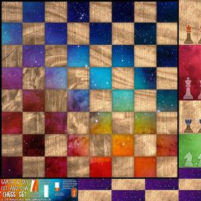 Chess Set 28x18 (Fleece)
