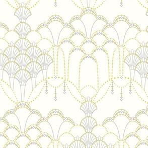 Deco Lace ivory medium